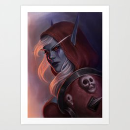 Sylvanas Windrunner Art Print