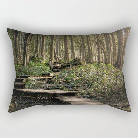 Adventure Nature Path Rectangular Pillow