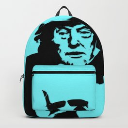 Neon Aqua Uncle Trump Needs You Backpack