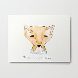 ms fox Metal Print