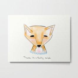 ms fox Metal Print