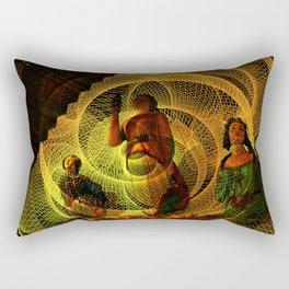 The three figureheads Rectangular Pillow
