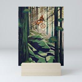 MY THERAPY Mountain Bike Mini Art Print