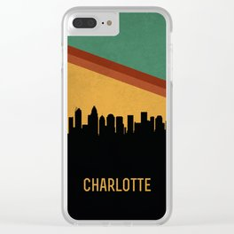 Charlotte Skyline Clear iPhone Case