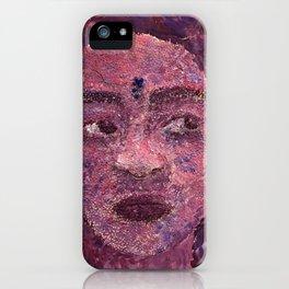 Clay Portrait iPhone Case