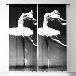 Swan Lake Ballet Magnificent Natalia Makarova black and white photograph  Blackout Curtain