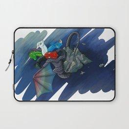 Tiamat the Five-Headed Dragon Laptop Sleeve