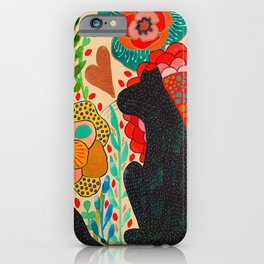 Sometimes My Love Is A Wild Thing iPhone Case