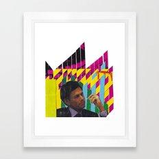 P/Y Man Framed Art Print