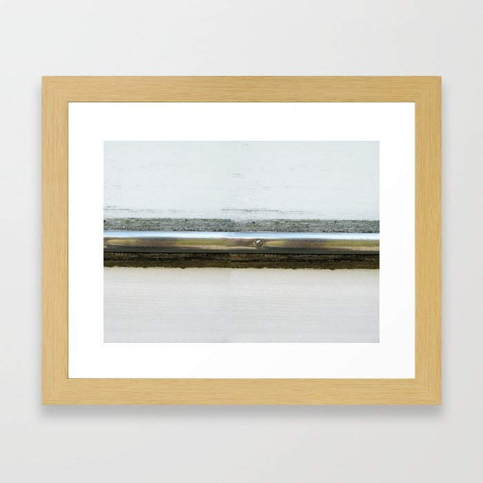 Waterline Project Framed Art Print