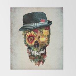 Skull Lover Throw Blanket