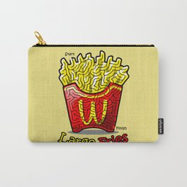 Maze Shirts: Large Fries Carry-All Pouch