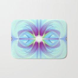 Winter - Minimal fantasy  paint Bath Mat
