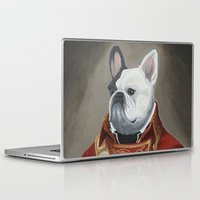 marc Laptop & iPad Skins featuring Marc-Antoine Bouledogue by William Joseph Speer