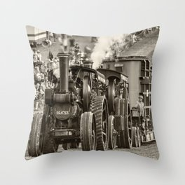 Traction Power Throw Pillow