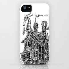 the wandering library iPhone (5, 5s) Slim Case