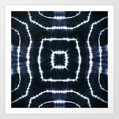 CASTLE OF GLASS - INDIGO Art Print