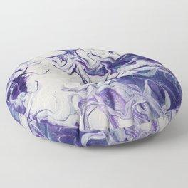 Purple Clouds Floor Pillow