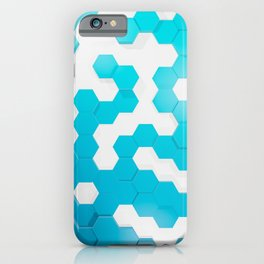 Hexagons 01 iPhone Case