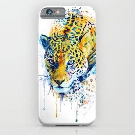 Lurking Leopard iPhone Case