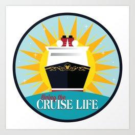 Magical Dreamy Wonderful Fantasy Cruise Art Print