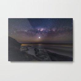 Muriwai Milky Way Metal Print