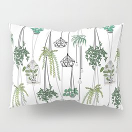 hanging pots pattern Pillow Sham