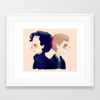 221b Framed Art Prints featuring 221B by Nan Lawson