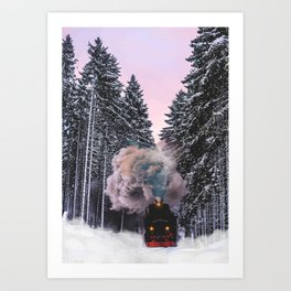 How fast can you pack? Art Print