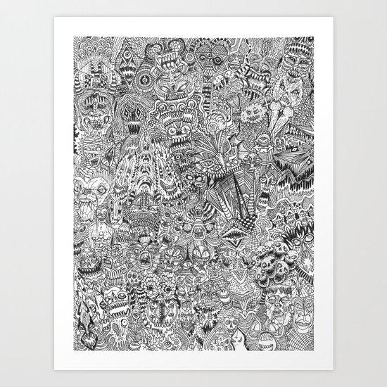 Commencement Art Print