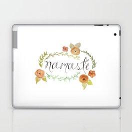Namaste Floral Watercolor Laptop & iPad Skin