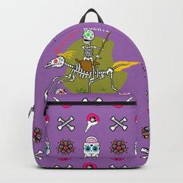 Design de la Muerte - Triumph of Death 1 (violett) Backpack