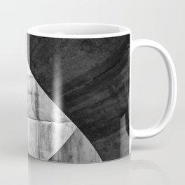 Stone Circle Meets Square Concrete Abstract Coffee Mug
