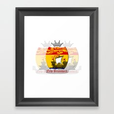 New Brunswick Framed Art Print