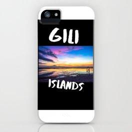 Gili Islands iPhone Case