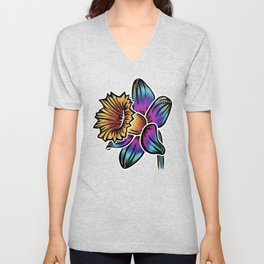 Daffodil- Catalyst Gardens Unisex V-Neck