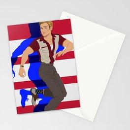 Star Spangled Man Stationery Cards