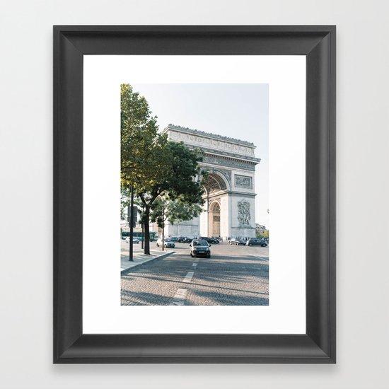 Arc de Triomphe #2 Framed Art Print