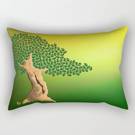Beetle Bonsai Rectangular Pillow