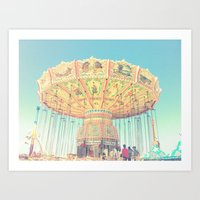 Swing Time Art Print