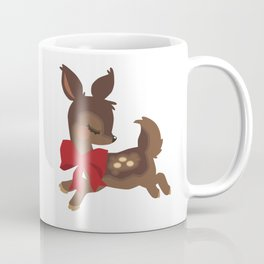 Ribboned Fawn Coffee Mug