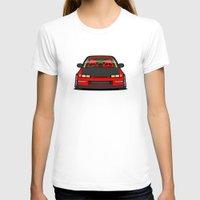 honda T-shirts featuring Honda Civic EF9 by IrvSim