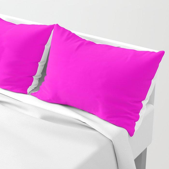 Pink neon color bright summer Kissenbezug