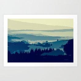 Serene and Beautiful Landscape Art Print