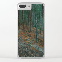 into the woods 02 Clear iPhone Case