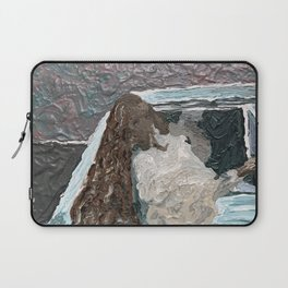 What Happened At The New Orleans? Abstract Laptop Sleeve