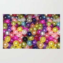 Rainbow beads Rug