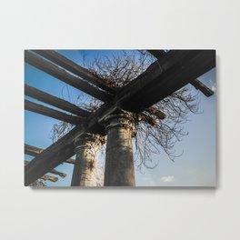Columns Metal Print