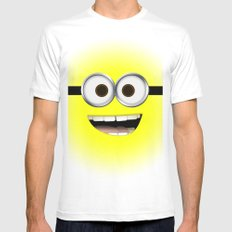 minion *new* White MEDIUM Mens Fitted Tee