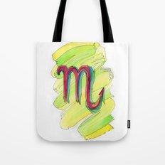 Scorpio Flow Tote Bag